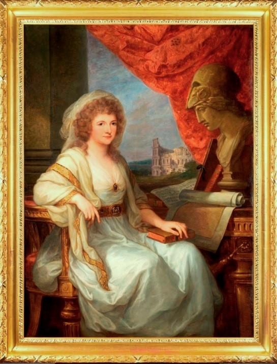 Abb. 103 Angelika Kauffmann: Bildnis Anna Amalia, 1789 Weimar KSW,, Dauerleihgabe S.K. H. Prinz Michael von Sachsen-Weimar-Eisenach