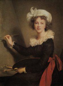 Abb. 19 Elisabeth Vigée-Lebrun: Selbstbildnis, 1790, Florenz, Uffizien © aus: Chalon 1998