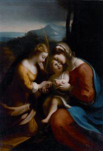 Abb. 26 Angelika Kauffmann nach Correggio: Die Verlobung der hl. Katharina, um 1763/64, Schwarzenberg, Privatsammlung © Adolf Bereuter, Archiv der Autorin