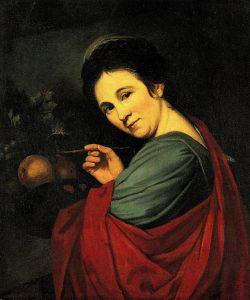 Abb. 28 Mary Moser: Selbstbildnis, um 1780, Schaffhausen, Museum zu Allerheiligen, Sturzenegger-Stiftung © Ausst. Kat. Düsseldorf 1998, S. 193, Kat. Nr. 74