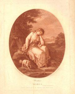 Abb. 30 W. W. Ryland, nach Angelika Kauffmann: Maria Moulines, Punktierstich 1778 © Bettina Baumgärtel, Archiv