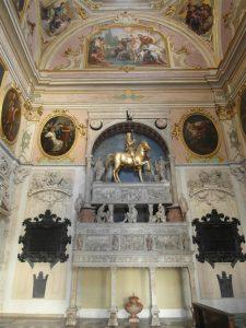 Abb. 38 Innenansicht der Cappella Colleoni, Bergamo © Foto Inken M. Holubec, Bettina Baumgärtel, Archiv