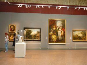 Abb. 41 Moskau, Puschkin Museum, Ausstellung Malerei des 18. Jahrhunderts 2010 © Bettina Baumgärtel, Archiv