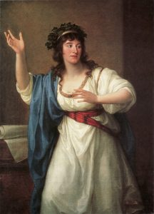Abb. 4 Bildnis der Teresa Bandettini-Landucci, 1794, Öl auf Leinwand, Inv. Nr. MKP M 2008-2 © Bettina Baumgärtel, Archiv, Foto Horst Kolberg, Neuss