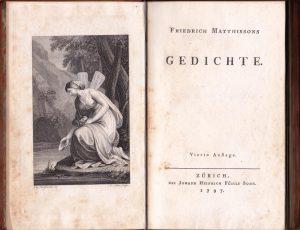 Abb. 45 Johann Heinrich Lips, nach Angelika Kauffmann: Psyche, Radierung, Frontispiz, in: Friedrich Matthisson: Gedichte, 4. Aufl., Zürich 1797 © Bettina Baumgärtel, Archiv