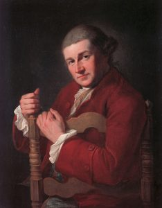 Abb. 60 Bildnis David Garrick, 1764, Stamford, The Burghley House Collection © The National Trust, Abb. aus: Rosenthal 2006. S. 60