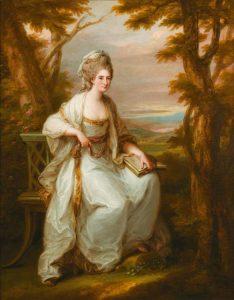 Abb. 64 Bildnis Ann Loudoun, 1771, Schwarzenberg, Angelika Kauffmann Museum © aus: Ausst. Kat. Düsseldorf 1998, S. 207