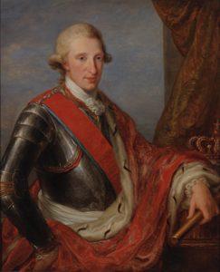 Abb. 66 Bildnis Ferdinand IV., König von Neapel und Beider Sizilien, 1782/83, Bregenz, vorarlberg museum © Bregenz, vorarlberg museum