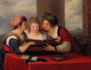 Abb. 75 Die Drei Sängerinnen, um 1796, Privatsammlung © Bettina Baumgärtel, Archiv